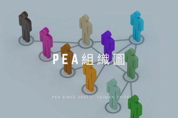 PEA中華絹繡植睫協會-組織圖